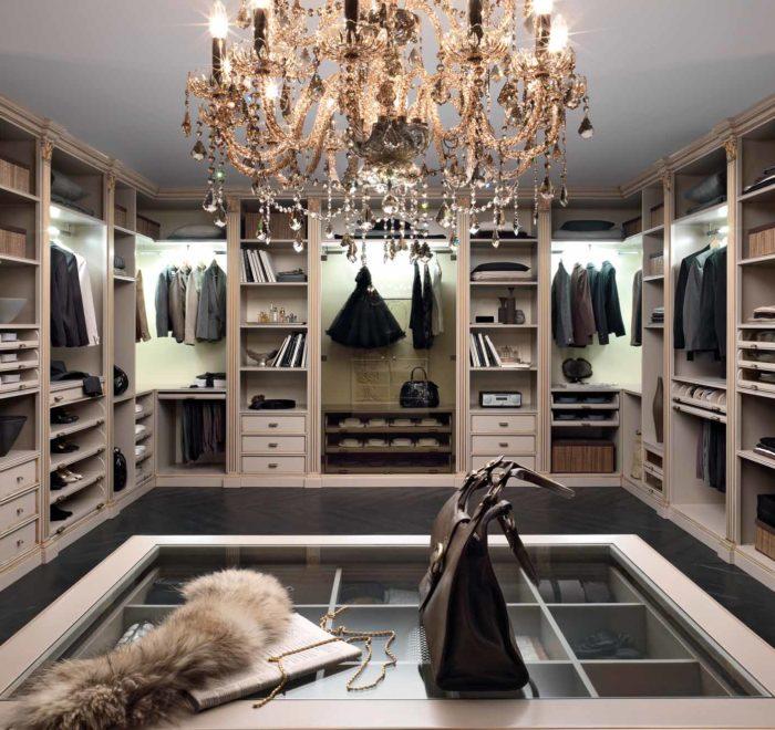 Мебель для гардеробной комнаты на заказ