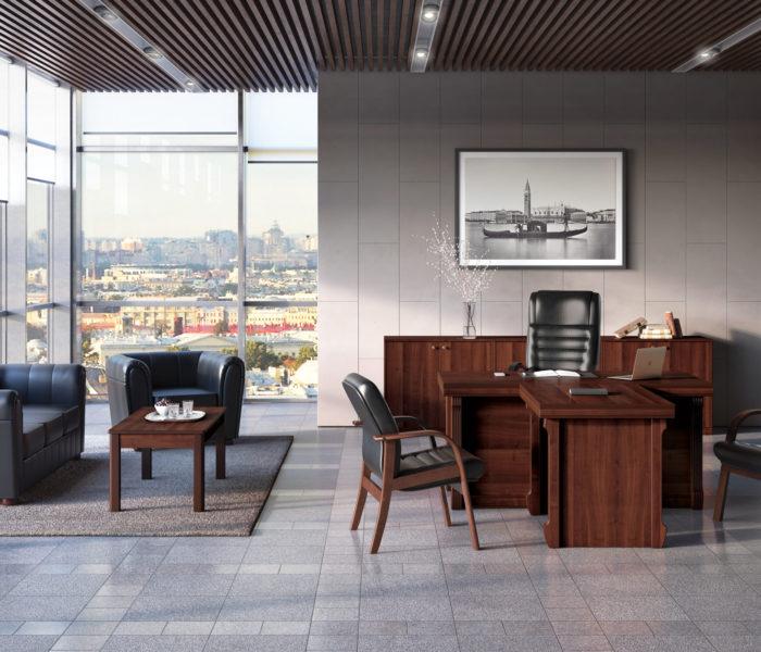 Мебель для кабинета руководителя на заказ